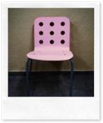 La silla rosa